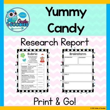 Research Report - Yummy Candy (No Prep)