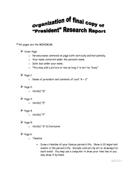 Research Report of President