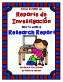 Research Report/Reporte de Investigacion (English/Spanish)