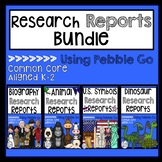 Research Reports Bundle Using Pebble Go