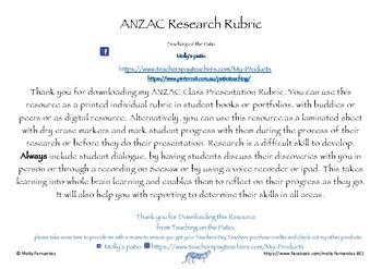 Research Rubric