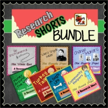 Research Short {BUNDLE}