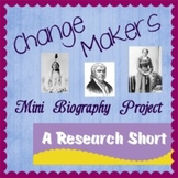 Research Short: Historical Change Makers Biography Project