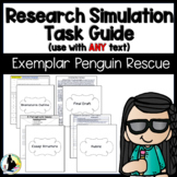 Research Simulation Task Guide with Step-by-Step Instructions, Sample, & Rubric