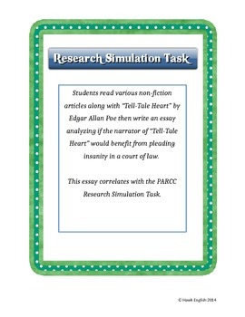 Research Simulation Task - Insanity