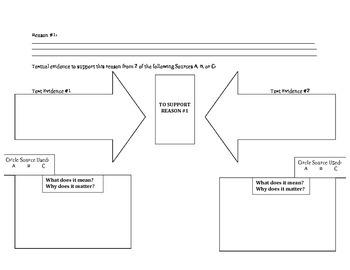 Research Simulation Task (PARCC): Source & Evidence Organizer
