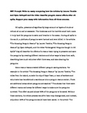 Research Simulation Task Sample Essay (PARCC Grade 5)