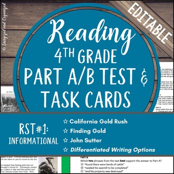 Test Prep: Research Simulation Task Study Guide & Assessme