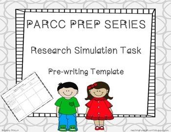 PARCC Prep Series- Research Simulation Task {RST}