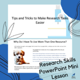 Research Skills PowerPoint Mini Lesson