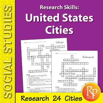 Research Skills: United States Cities