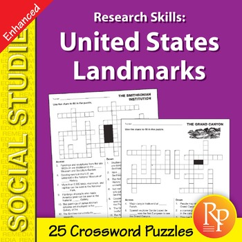 Research Skills: United States Landmarks - Enhanced