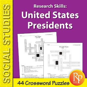 Research Skills: United States Presidents