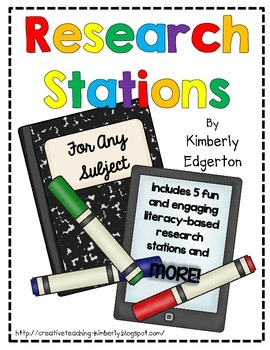 Research Stations and MORE {For Any Subject}