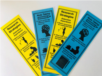 Research Strategies Bookmark