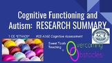 Research Summary - Cognitive Functioning