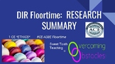 Research Summary - Floortime