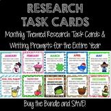 Research Task Card BUNDLE!