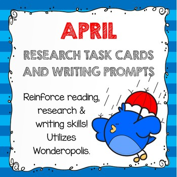 Research Task Cards - April