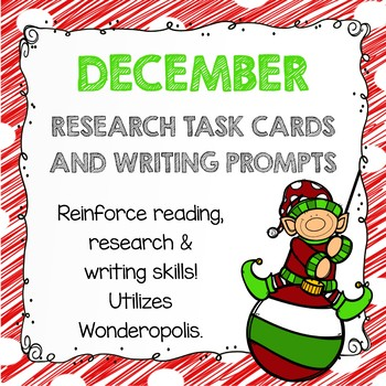 Research Task Cards - December