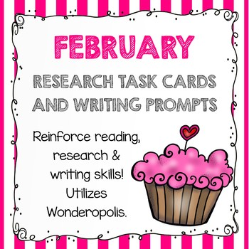 Research Task Cards - February