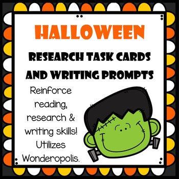 Research Task Cards - October