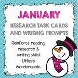 Research Task Cards - January