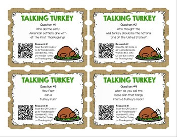 Research Task Cards - November