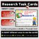 Research Task Cards for September