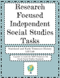 **Now Virtual** Research Tasks for Social Studies Standard