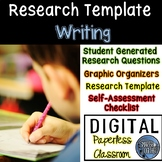 Research Template for Google Classroom