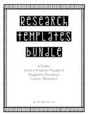 Research Templates Bundle