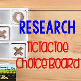 Research TicTacToe Choice Board