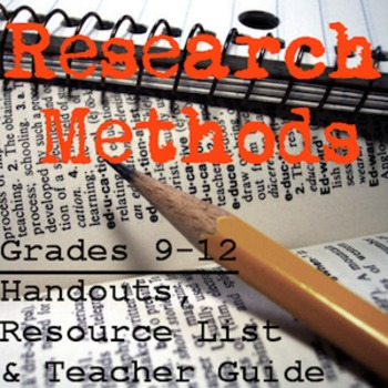 Research Tips & Methods