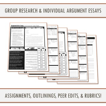 Research Unit Bundle: From Analysis to Argument