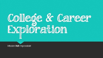Research Unit: College/Career Exploration