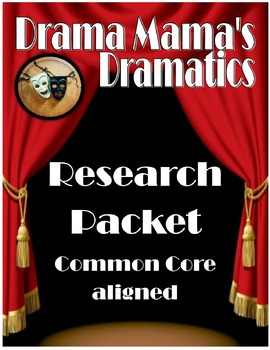 Research Unit Packet (Common Core aligned)