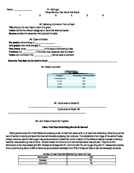 Research Visuals Worksheet
