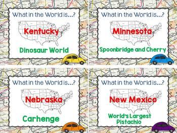 Research Project - Wacky Roadside America