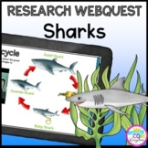 Research Webquest: Sharks! - Google Slides for Distance Learning