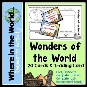 Research Project - Wonders of the World