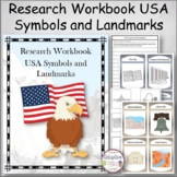 Research Workbook USA Symbols and Lanmarks
