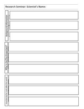 Research Worksheet