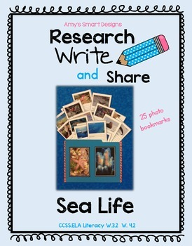 Research Write and Share: Sea Life