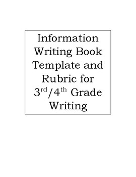 Research Writing Book Template