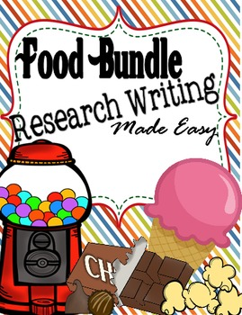 Research Writing Made Easy: FOOD Bundle