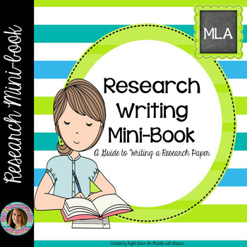 Research Writing MiniBook Guide For Writing A Research Paper  Tpt
