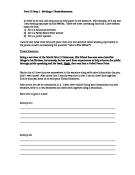 Research Writing Packet