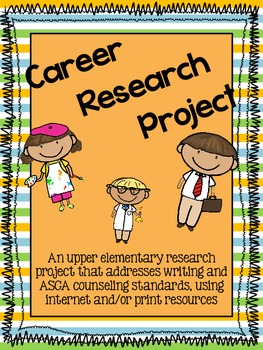 Research Writing Project: Jobs and Careers