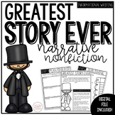 Research Writing Project: My Greatest Story (Narrative Nonfiction Edition)